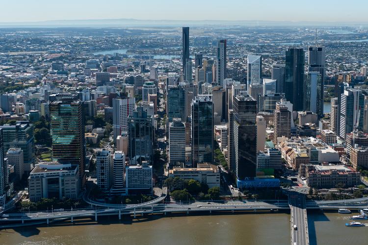 Brisbane CBD Dusk